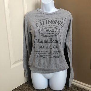 On Fire California Gray LS Shirt